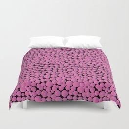 Pink Bubblegumballs! Duvet Cover
