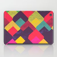 georgiana paraschiv iPad Cases featuring colour + pattern 11 by Georgiana Paraschiv