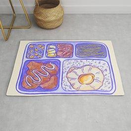 Lunch box Rug