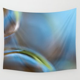 Glass Abstract  - JUSTART © Wall Tapestry