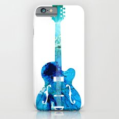 Vintage Guitar 2 - Colorful Abstract Musical Instrument Slim Case iPhone 6s