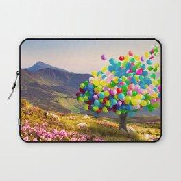 When Balloon Bloom Laptop Sleeve