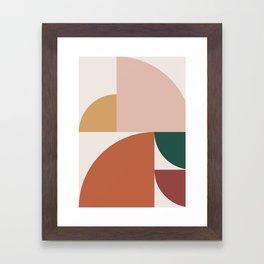Abstract Geometric 10 Framed Art Print