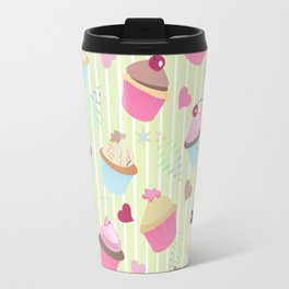 Cupcakes with love Travel Mug