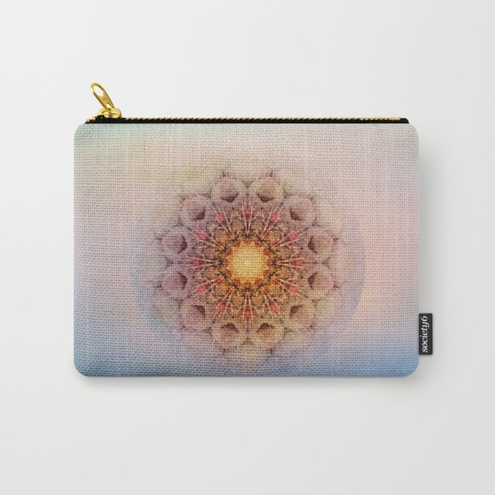 Asterisk Mandala Carry-All Pouch