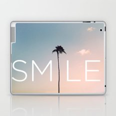 Palm tree Smile Laptop & iPad Skin