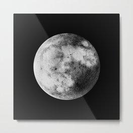 Moon and the Night Sky Metal Print