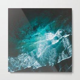 Ocean Explosions Metal Print