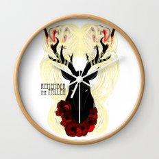 Remember the fallen Wall Clock