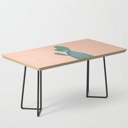 Cactus Watercolor Coffee Table