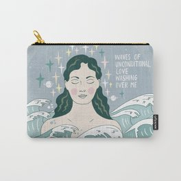 Waves of unconditional love washing over me Carry-All Pouch