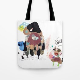 SayHello Tote Bag
