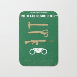 No787 My Tinker Tailor Soldier Spy minimal movie poster Bath Mat