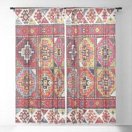 Moghan Southeast Caucasus Rug Print Sheer Curtain