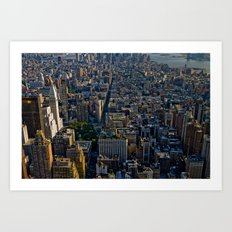 Top of the Empire #4 Art Print