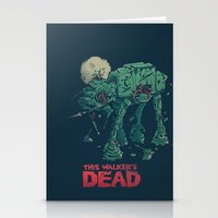 dead Stationery Cards featuring Walker's Dead by Victor Vercesi