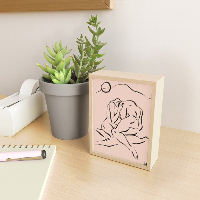 Sunburst Framed Mini Art Print