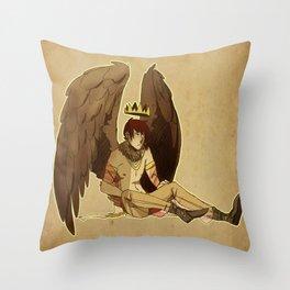 bird prince Throw Pillow