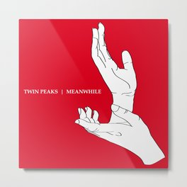 A Twin Peaks - The Antlers Homage Metal Print