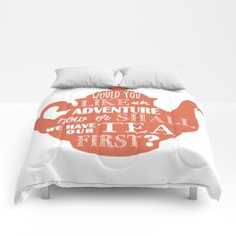 J. M. Barrie Quote Comforters