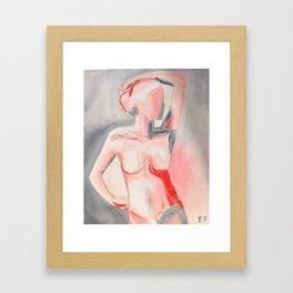 Buckeye Girl Framed Art Print