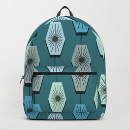 Mid Century Modern Pattern Backpack