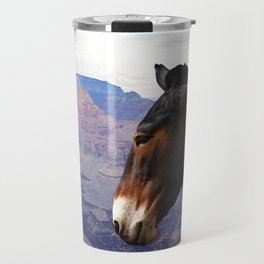 Grand Canyon Mule Travel Mug
