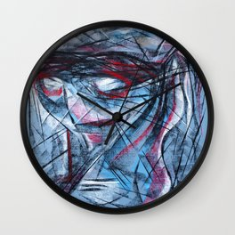 Chalk Face Wall Clock