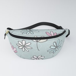 Cute Floral Ditsy Pattern Fanny Pack