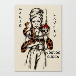 Marie Laveau - Voodoo Queen Canvas Print