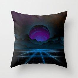 Outrun-2 Throw Pillow