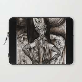 Good And Evil Laptop Sleeve