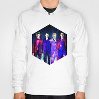 suits Hoodies featuring The Doctors: Galaxy Suits by Paris Noonan