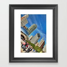 Millenium Park, Chicago Framed Art Print