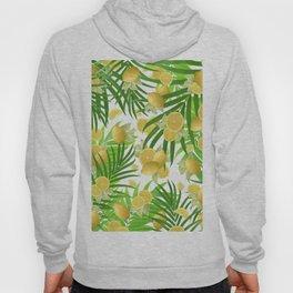 Summer Lemon Twist Jungle #2 #tropical #decor #art #society6 Hoody