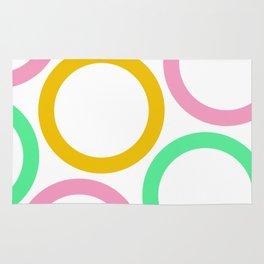Colour Hoops 03 Rug