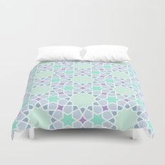 Arabic pattern Duvet Cover