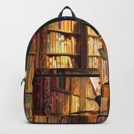 The Bookworm - Carl Spitzweg Backpack