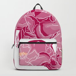 Heart of flowers Backpack