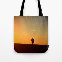First Moonrise on Tatooine Tote Bag
