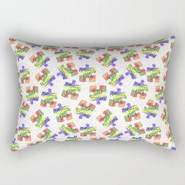 Different is not weird Autism awareness and acceptance Rectangular Pillow