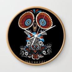 Mexican Owl Wall Clock