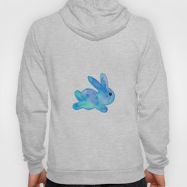 Little Bunny No. 1h by kathy Morton Stanion Hoody