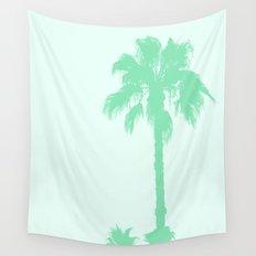 Mint Palms Wall Tapestry