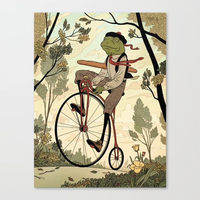 Morning Ride Canvas Print