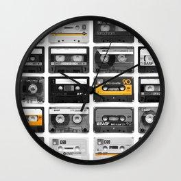Retro Tapes Wall Clock