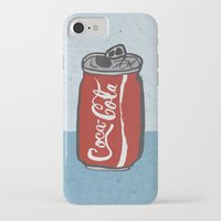 coke iPhone & iPod Cases featuring COKE 4EVR by Josh LaFayette