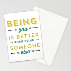 BEING YOU 2 Stationery Cards