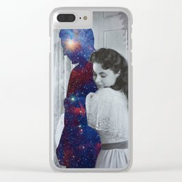 Lost in space Clear iPhone Case