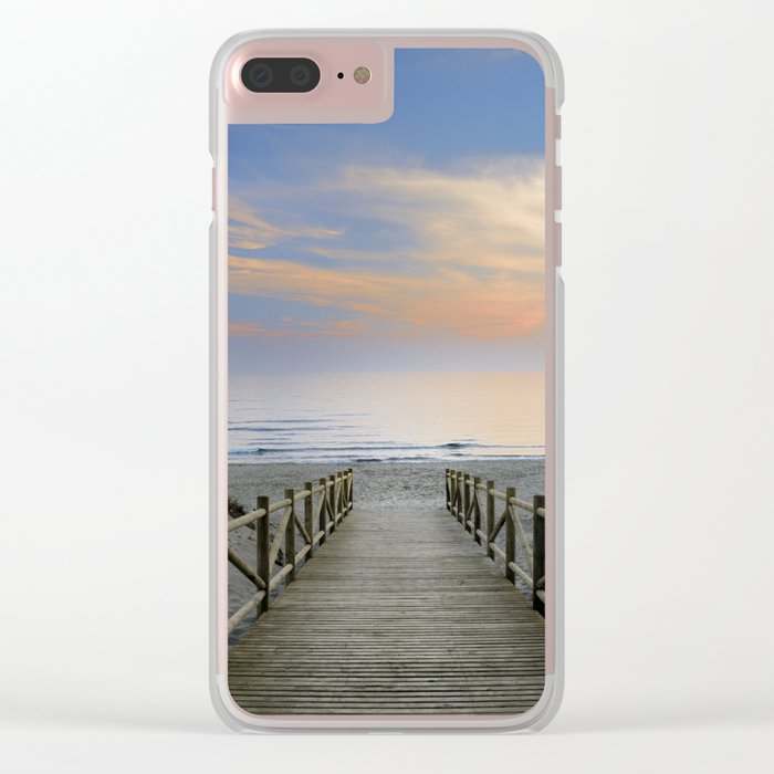 "The path..., the beach.... ""Artola"". Clear iPhone Case"